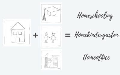 Lernen im Homeschooling, Homekindergarten, Homeoffice – wie sollen wir das alles schaffen?